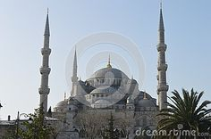 The Famous historical Blue Mosque of Istanbul