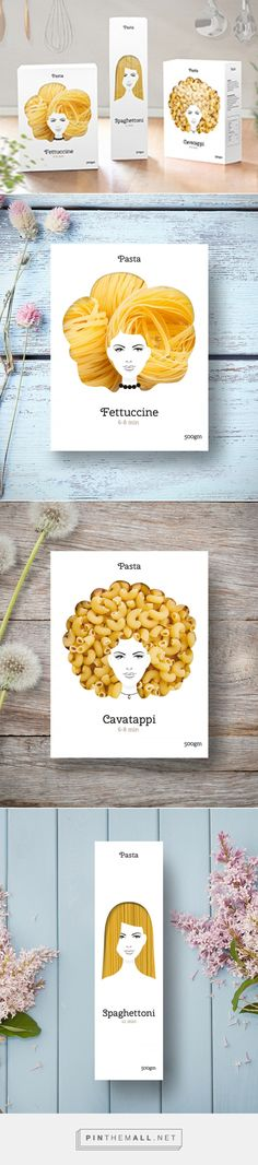 Good Hair Day Pasta (Concept)         on Packaging of the World - Creative Package Design Gallery