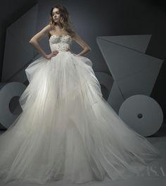 Featured Wedding Dress:Ersa Atelier;www.ersaatelier.com; Wedding dress idea.