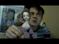 How to make a doll with toothpick - YouTube