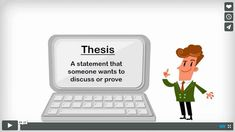 Help Your Students Understand Thesis Statements http://info.easybib.com/help-your-students-understand-thesis-statements