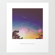 embrace and love +  Art Print by Cloud Story + - $18.72