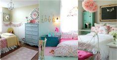 Girly εφηβικά υπνοδωμάτια Για τις μικρές κυρίες!