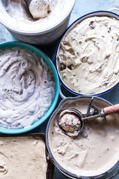 Making ice cream without a machine is way simpler than you might think. 19 No-Churn Ice Cream Recipes You Need To Make This Summer No Churn Ice Cream, Make Ice Cream, Homemade Ice Cream, Homemade Sorbet, Ice Cream Mix, 13 Desserts, Frozen Desserts, Frozen Treats, Ice Cream Treats