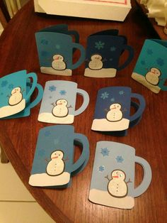Pictures Snowman Crafts cricut Suggestions It's not necessary some sort of. - Snowman CraftsNew Pictures Snowman Crafts cricut Suggestions It's not necessary some sort of. Paper Christmas Ornaments, Diy Christmas Cards, Christmas Mugs, Homemade Christmas, Christmas Decorations, Winter Christmas, Holiday Decor, Kids Crafts, Preschool Christmas Crafts