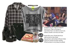 """daniel desario can get. it. straight up. but james cant wtf"" by thehappypessimist ❤ liked on Polyvore"