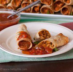 Make Ahead Freezer Taquitos | betsylife.com