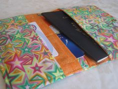Super Stars Passport Wallet  Shipping Included by MissKellyMullen, $11.00