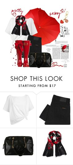 """""""I Came To Break Hearts"""" by mrs-rc ❤ liked on Polyvore featuring Victoria's Secret, Red Herring, Nudie Jeans Co., Chanel, Diane Von Furstenberg, Tory Burch, women's clothing, women, female and woman"""
