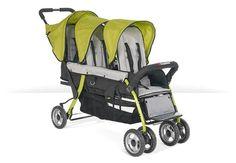 Foundations Trio Sport 3-Child Stroller Lime - 4130299