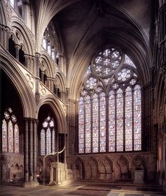 Angel Choir, Lincoln Cathedral. Begun 1250 #architecture #cathedral