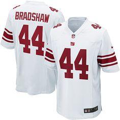 Nike Elite Youth New York Giants #44 Ahmad Bradshaw White NFL Jersey $79.99