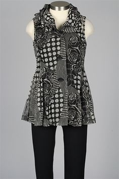 Use marcy Tilton vest pattern