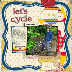 Let's Cycle Supplies: Jenni Bowlin Studio: Playdate Collection, Playful Embellishment Kit, Days Of The Week Banners, School Day Alpha Katie Pertiet: All...