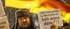 Was ein Moslem 25.000 anti-islamischen Demonstranten in Deutschland antwortet