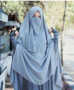 Modest Fashion Hijab, Niqab Fashion, Modest Outfits, Hijab Dress, Hijab Outfit, Instant Hijab, Islamic Girl, Hijab Niqab, Islamic Clothing