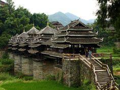 El Puente de la lluvia y el viento en Chengyang