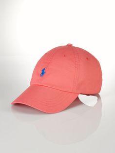 Classic Baseball Cap - Polo Ralph Lauren Hats - RalphLauren.com