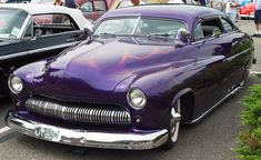 1949 purple Mercury