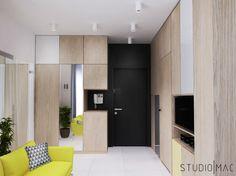 Projekt mieszkania 32 m2 w Warszawie