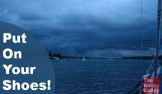 When weather threate