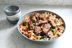 TAMARI MARINATED TEMPEH MIXED SALAD #SustainTheGlow #STGNourish #STGRecipe #STG #Nourish #Recipe #HealthyRecipe #Tempeh #Salad #Vegan #HealthyRecipe #Clean #EatClean #Vegetarian #PlantBased