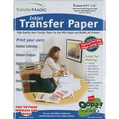 Transfer Magic High-resolution Inkjet Transfer