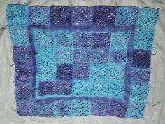 Selimut crochet granny square