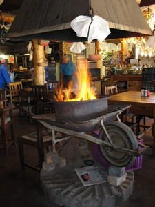 Dassiesfontein.  A wonderful stop between Botrivier and Caledon (South Africa) where they serve real Boerekos.