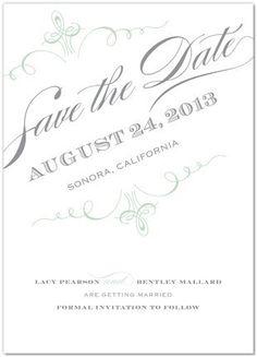 Save the Date Ideas Wedding Invitations Photos on WeddingWire