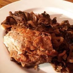 Filet mignon aux champignons #recette #cuisine