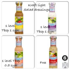 Kraft light dressing syns