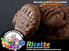 Biscotti al burro di arachidi senza farina Healthy Recipes, Healthy Food, Muffin, Cookies, Chocolate, Breakfast, Desserts, Fit, Mint