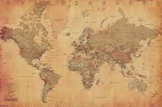 Map of the World,...