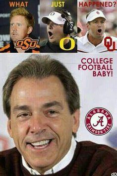 Woot woot....SEC baby!