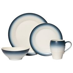 Mikasa® Swirl Ombre Dinnerware Collection in Blue