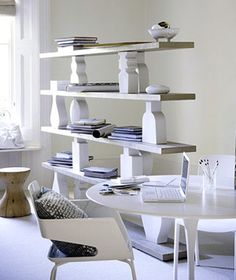 If white seems too stark, a barely-there gray can warm up a room without competing with other elements.