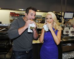 8 Celebrity Sightings Ideas Celebrity Sightings Holly Madison Joey Fatone