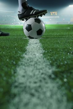 Find Close Foot On Top Soccer Ball stock images in HD and millions of other royalty-free stock photos, illustrations and vectors in the Shutterstock collection. Soccer Stadium, Football Stadiums, Football Soccer, Football Players, Football Records, Soccer Images, Soccer Pictures, Football Images, Top Soccer