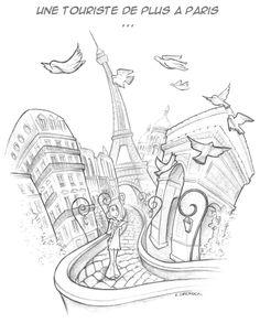 Sketches - Emilie Decrock - freelance illustrator