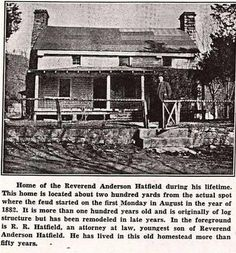 The Real Hatfields and MC Coy's | More Wikipedia Wisdumb on the Hatfields and the McCoys