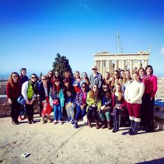 Opa!! SMS travels to Greece! ✈️ #Minimester #Greece #Parthenon