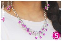 Paparazzi Accessories; $5.00 ...Draped in Radiance - Purple