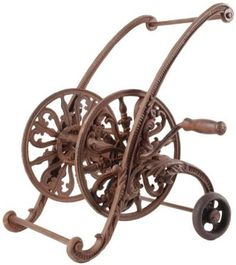 ornamental garden hose holder  sc 1 st  Pinterest & 18 best Hose holder - Wrought iron images on Pinterest | Wrought ...