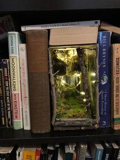 Diagon Alley Inspired Booknook Book Nooks Diagon Alley