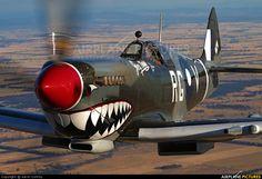 "dave-mech: ""Spitfire MK VIII by Gavin Conroy """