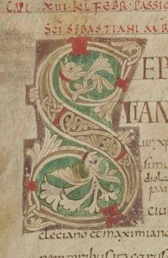 FB Olga LavkaTitivillusa  Passio sancti Sebastiani etc. 10 c. http://gallica.bnf.fr/m/ark:/12148/btv1b105419950.r=Passio.langEN
