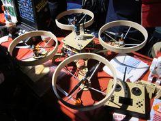 Quadcopter grunt @ Maker Faire 2014, Centre For Life, Newcastle #makerfaireuk #quadcopter