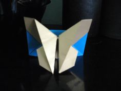 ORIGAMI ART-CREATIVITY: Origami butterfly/Origami Stand Holder with butter...