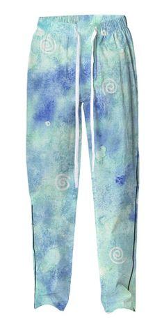 Blue lagoon Pajama Pant by @savousepate on @printalloverme